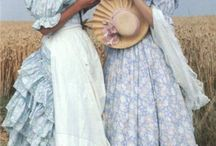 Vintage Laura Ashley dresses <3