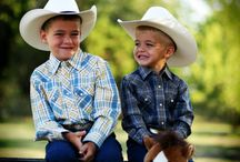 Little Cowboys 'n Cowgirls / This board contains images of little cowboys and cowgirls. Those kids who love to dress up like the outlaw, sheriff, gunslinger, trick rider, rancher, cowhand and Annie Oakley they admire. It also happens to be extremely cute.  / by F.M. Light and Sons