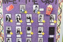 Schoolfeest - thema film