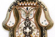 JUDAICA art, symbolic