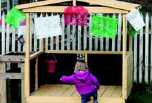 Pallet Playhouse / Wooden pallet playhouse is a great project and pallet playhouse plans.