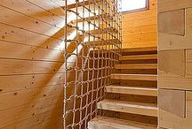 Creative fitness / Cargo net in house