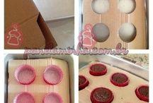 Como criar forma para cupcakes