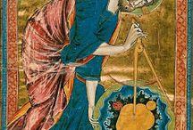 Medieval hand saw / Średniowieczna ręczna piła / Medieval tools and craft