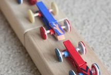 wooden constr.