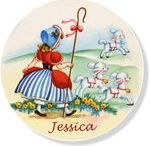 Personalized Child's Plates  / Have your child's name and picture on their very own plate