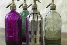 Bottles, Glass & Pottery
