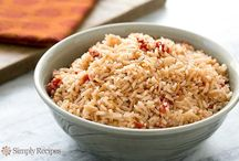 Mexican rice dish / Rice and tomato sauce