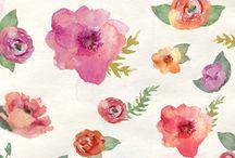 Blumen malen