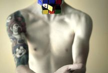 rubik tattoo