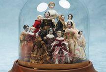 Miniature Dolls in Dome