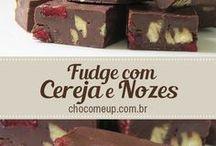 Receitas de fudge