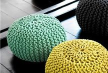 Crochet accesories for cosy home