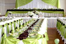 Guty Svadobná výzdoba sály Guty Wedding hall decoration