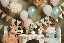 Whimsical Tea Party / Simple, sweet and pastels