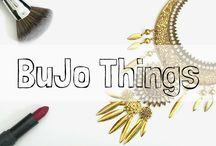 Bullet Journal Things(BuJo)