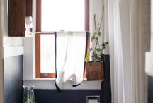 Bathroom remodel  / by Amber Christopher