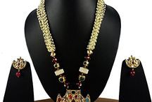 Traditional Wedding Party Ethnic Bollywood Jewelry Set