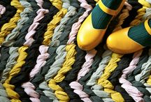 DIY Custom Rugs / Interesting and creative DIY Custom Rugs
