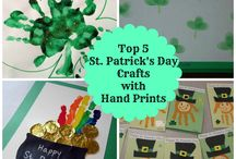 St. Patrick's Day / St. Patrick Day decorations and crafts / by Becky at Crafty Garden Mama