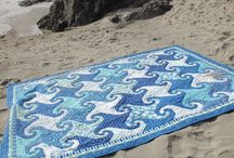 Quilts For Summer / We just love grabbing these quilts and heading to the beach!  / by Hollyhill Quilt Shoppe & Mercantile