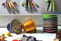 recycled coffee pods
