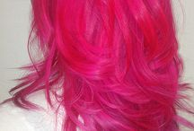 Fashion color hair / Look Book
