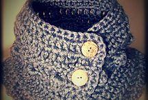 Crochet neckwarmers