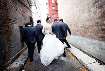 urban wedding party photo photos