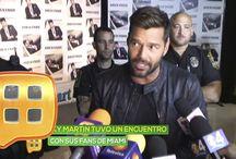 Entrevista de Ricky Martin en al Rojo Vivo.