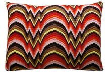 pillows(bargello)