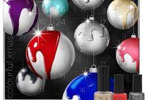 Dobner Kosmetik Adventskalender / Meine lieben Beautyfans in 44 Tagen ist der 1 Dezember und wer liebt wie ich auch die aufregende Zeit mit dem Adventskalender. Aber wer wie ich auch auf gepflegte Hände und spezielle Farben als Nagellack liebt möchte ich euch heute ein besonderen Highlight präsentieren, den  Colourful Xmas Youstar Kalender  bei Dobner-kosmetik seit dem 16.10.2014 im Handel.