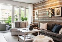 Scandinavian, wood & flat