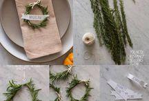 Misanplace / Come decorare una tavola