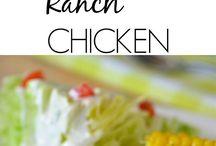 Ranch chicken