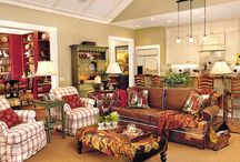 Living or Family Rooms