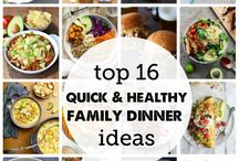 FOOD   It's Dinnertime! / Recipes and menu planning for busy families with children.