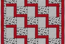 Quilts-- Red & White