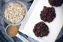Healthy Yummy Treats / Peanut butter No Bakes with coconut oil. Would like to try with honey...