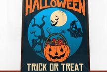 Halloween plakaty