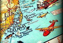 Miami Beach Florida / Gorgeous beaches and Art Deco Architecture