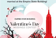 2016 Valentine's Day Weddings Contest / 9 couples marry or renew their vows on the Empire State Building's 86th floor Observatory. The love stories they submitted to our Valentine's Day Weddings Contest touched our hearts and earned them the once-in-a-lifetime opportunity to marry atop our iconic tower!  / by Empire State Building
