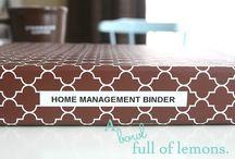 Home Organization Binder / by Michelle Swingle