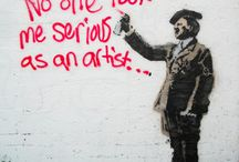 The Art of Crimes / Graffiti, Stencil, Wheatpaste.