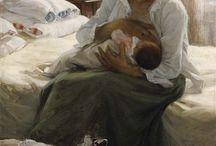 Maternità e pittura