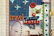 Travel scrapbooking