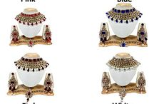 Attractive Traditional Indian Bollywood Madhuri Dixit Inspired Wedding Bridal Jewellery Set