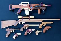 wood guns