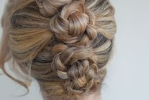 Hair-brained Ideas / Braids, up-dos and so on. Ideas for hairstyles.