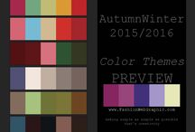 Color Library|Fashion / A color library of Women/Men's Fashion, Sport & Intimate Apparel by www.FashionWebGraphic.com